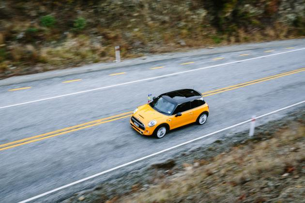 MINI Goodbye Pork Pie Shoot. Photo Credit Simon Darby and MINI NZ.