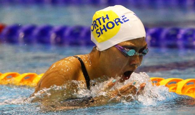 Yeonsu Lee on her way to one of the 10 gold medals she won. Pic: BMP Photography/SwimmingNZ