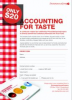 Heartbreak Leads To Accountants Cook Book