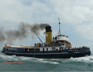 76 year old tug finds a new waterfront home