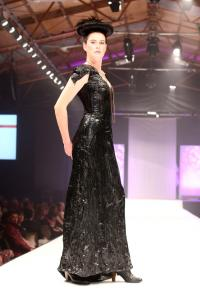 2012 Award of Excellence Winner and Avante Garde open section winner, Designer Charlotte Bishop.
