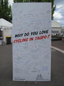 Over 25,000 Visitors In Taupō For Cycling Challenge
