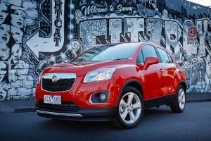 Holden launches MY15 Trax with 1.4 turbocharged option