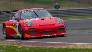 Halliday wins Belgium GT1 race