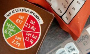 Food should label calorie rate