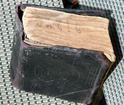 Final Resting Place Of A Lost Bible