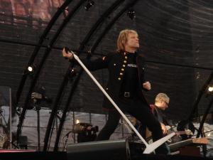 Rock's Global Icons Bon Jovi Touch Down For NZ Tour