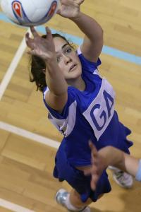 Two upsets in netball first round